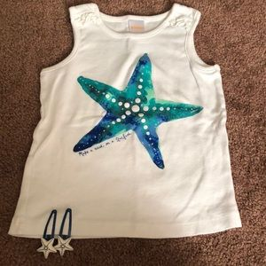 Gymboree Tank and Clips